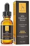 Natürliches Vitamin C Serum - FREI VON Parabenen, Silikonen, Parfümen, PEGs, Hormonen - 30 ml...
