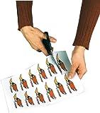 Sattleford Selbstklebendes Papier: 20 Klebefolien wetterfest A4 für Laserdrucker weiß (Wetterfeste...