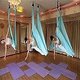 Seasofbeauty Yoga Hängematte Aerial Anti-Gravity-Schwingen Hängematte Joga 500*280cm Belastung...
