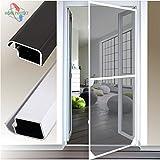 Insektenschutztür Comfort ALU-Rahmensystem 120x240cm ohne Bürstendichtung anthrazitgrau 296