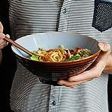 Japanischen Stil Retro Keramik Suppenschüssel Kreative Heimat Große Ramen Schüssel Obst Salat...