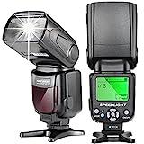 Neewer® NW-561 speedlite Blitzbeleuchtung Blitzgerät mit LED Bildschirm für Canon & Nikon DSLR...