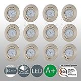 LED Einbaustrahler Schwenkbar Ultra Flach Inkl. 12 x 5W LED Modul 230V IP23 LED Deckenstrahler...