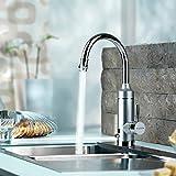 Pudin Einstellbare Leistung Professional Elektrischer Wasserhahn Durchlauferhitzer Sofortiger...