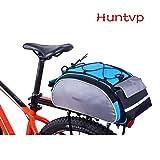 Huntvp Fahrradtasche 13/25/26L Wasserdicht Gepäckträgertasche Fahrrad Hintsitz Trunkbag...