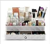 Kunststoff Make-up Organizer, Kosmetik Schmuck Aufbewahrungsbox Einsatz Halter Box mit Schubladen...