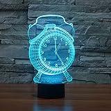 3D Nachtlicht, SUAVER 3D Visualisierung Amazing Optische Täuschung 7 Farben ändern Touch...