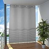 Seitlicher Balkonsichtschutz Balkon Paravent Sichtschutz seitlich Trennwand Markise 140x230 cm