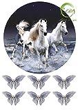 'Pferd №7 ' Tortenaufleger,Geburtstag,Tortendeko