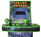 """Mini Arcade 2.7"""" Retro Games Konsole 1-2 Spieler - mit eingebauten NES Emulator"""