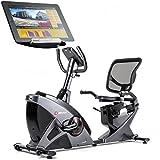 Hop-Sport Liegeheimtrainer HS-070L Sitzheimtrainer mit Computer Bluetooth 4.0 Smartphone Seteuerung...