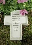 Grabkreuz 'Das Schönste, was ein Mensch...'