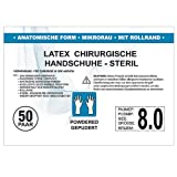 SFM ® OP Latex : 6.0, 6.5, 7.0, 7.5, 8.0, 8.5, 9.0 steril gepudert mikro texturiert chirurgische OP...