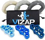 Vizap 6er-Set (70-90lb) Premium Handtrainer/Fingertrainern/Unterarmtrainer sind perfekt zur...