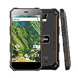 Outdoor Handy - Nomu S10 4G-LTE Dual Sim Outdoor Smartphone ohne Vertrag, 5000mAh Akku, 5,0 Zoll...