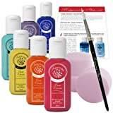Farbstark Bodypainting Farben - hautfreundliche Körperfarbe in Profi Qualität (auch für Airbrush...