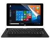ALLDOCUBE iwork10 Pro 2-in-1 10.1 Tablet PC mit Tastatur, Windows 10 + Android 5.1, Intel Quad Core