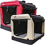 Dogidogs Hundetransportbox faltbar Transportbox für Hunde Hundebox Auto - Dogi Kennel - 6 Größen...