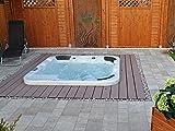 Outdoor Whirlpool Hot Tub Venedig Farbe weiß mit 44 Massage Düsen + Heizung + Ozon Desinfektion +...
