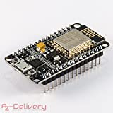 AZDelivery NodeMCU Lua Amica Module V2 ESP8266 ESP-12E WIFI Wifi Development Board mit CP2102 und...