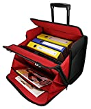 Business Trolley Laptop Tasche Pilotenkoffer Boardcase RAUMWUNDER Notebook Trolleytasche Bürotasche...