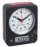 TFA Dostnmann Funkwecker Combo 60.1511 mit analoger Uhrzeit und digitaler Weckzeit, besonders leise...