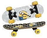DESPICABLE ME MINIONS 93743 Minions DM3 Skateboard aus Holz, 43 x 12 x 8 cm