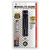 Mag-Lite XL200-S3016 LED-Taschenlampe XL200, 172 Lumen, 12 cm schwarz mit 5 Modi, Motion Control u....