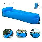 Hochwertige Premium Wasserdichtes aufblasbares Sofa, Luft sofa,Luft couch, mit integriertem Kissen,...