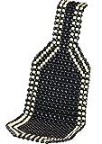 autooptimierer Holzkugelauflage Holzperlen Auflage Schwarz Weiß Kugelsitzauflage