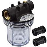 Agora-Tec AT-Wasserfilter 1L, mit Max. Betriebsdruck: 4 bar, Max. Durchflussmenge: 3000 l/h,...