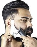 Edelstahl Bart Schablone I Ergebnisse wie vom Barbier I Bartschablonen Bartvorlage Styling I...