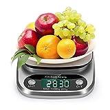 Küchenwaage, Digital Küche Waage 10kg / 1g Elektronische Waage, Tara-Funktion, mit Großem...