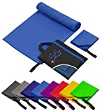 Fit-Flip 100x200cm - 1 Stück/Blau, schnelltrocknende handtücher schnelltrocken handtücher...
