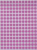 Bunte Sticker Pink 8 mm runde Punkt Aufkleber–inverschiedenen Farben Größe 0,8...