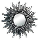 Schlichter Effektspiegel Rundspiegel Wandsticker Spiegel Dekospiegel Kristalle aus Kunststoff in...