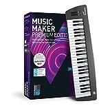 MAGIX Music Maker – 2018 Control Edition – USB-Keyboard und Musikprogramm Music Maker Premium...