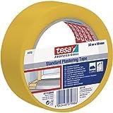 Putzband 50mm 33m gelb TESA 041720000902 glatt 4042448079886