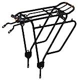 Ibera PakRak Fahrradgepäckträger für Touren + Heckträger IB-RA4(für Befestigungen ohne...