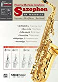 Alfred's Fingering Charts Instrumental Series: Grifftabelle Saxophon | Fingering Charts Saxophone  |...