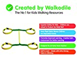 Walkodile Safety Web (4 kinder). Kinder Wandern Seil, Sicherheitsleine für Kids mit kostenlosen...