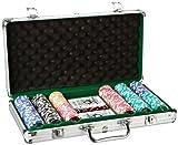 Piatnik 7903 - Poker Set 300 High Gloss Chips