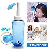 ONCCI 300ml Nasendusche Heuschnupfen Nasenspülung / Allergie / Trockener Nase Nasenreinigung Nase...