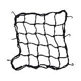 Boladge Motorrad Fahrrad Fracht Gepäck Netz Abdeckung Ausrüstung Helm Tuck Net String Tasche mit 6...