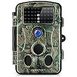 APEMAN Wildkamera 1080P Full HD Jagdkamera Gartenkamera 120°Breite Vision Infrarote 20m Nachtsicht...