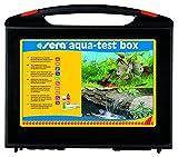 sera 04002 aqua-test box (+Cu), Koffer, Wasser testen für Fortgeschrittene pH, GH, KH, NH3/NH4,...