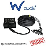W Audio Multicore-Kabel 8XLR/415m