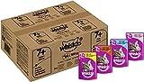 Whiskas Katzenfutter 7+ für Katzen ab 7 Jahren und älter - saftige Fisch- und Geflügel-Auswahl in...