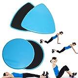 lzn 4 Teile / satz Gleitscheiben Dual Seitige Übung Sliders Core Sliders Gym Fitness Training Bauch...