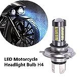 FEZZ 1000LM Extrem helle Motorrad LED Scheinwerfer Lampe Hi Lo Beam H4 HS1 9003 HB2 33W Weiß